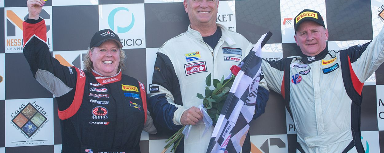 Cindi finishes 3rd at the 2019 Rose Cup Races